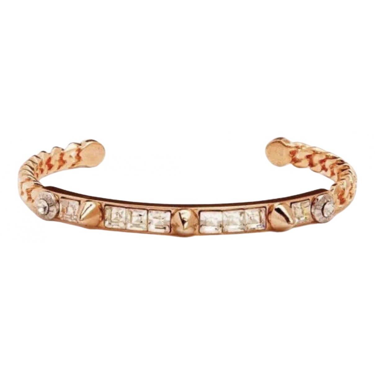 No Collection - Bracelet   pour femme en plaque or - dore