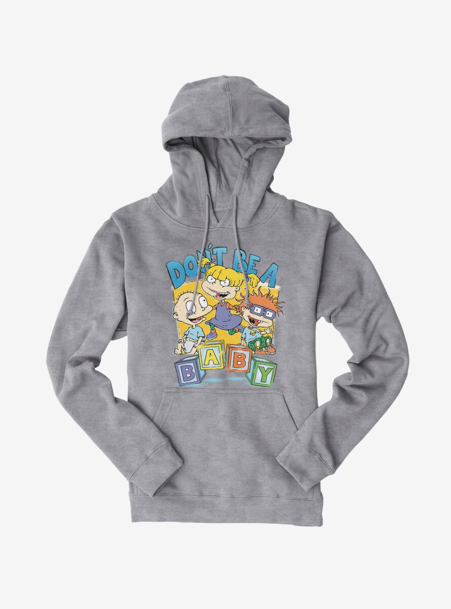 Rugrats Angelica Tommy And Chuckie Don't Be A Baby Hoodie