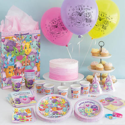 Hatchimals 1 Large Gift Bag For Birthday Party