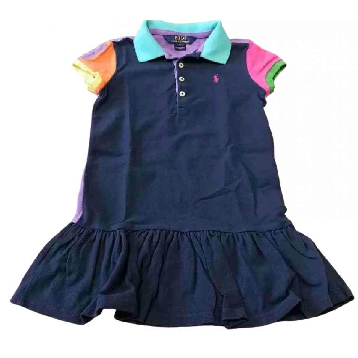 Polo Ralph Lauren \N Multicolour Cotton dress for Kids 5 years - up to 108cm FR