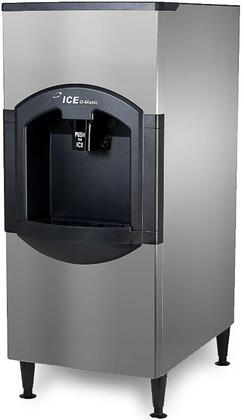 CD40022 Cube Ice Dispenser with Power Clean  Turbo Dispense  Fingerprint-Proof Plastic and Corrosion-Resistant Stainless