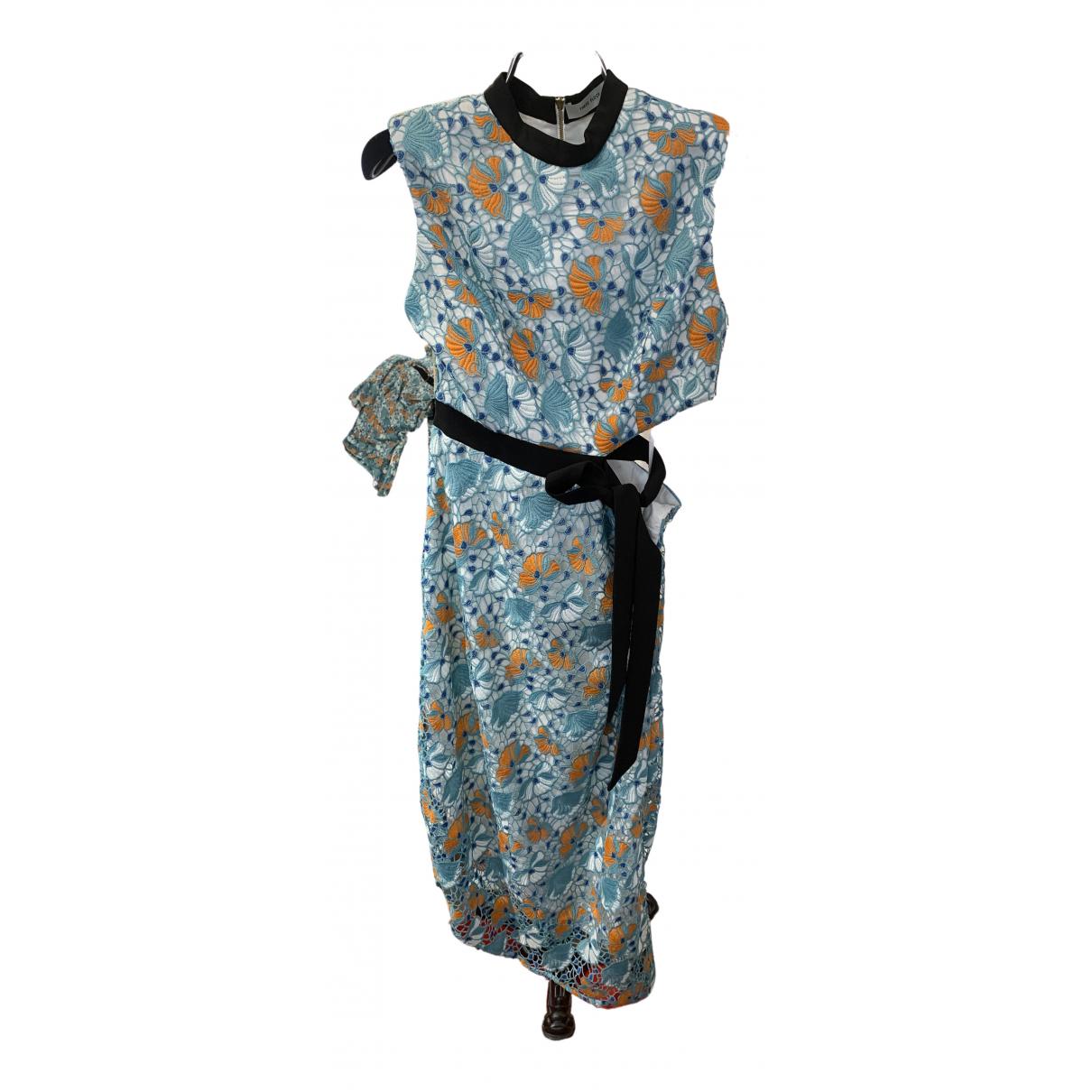 Three Floor Fashion \N Kleid in  Gruen Polyester