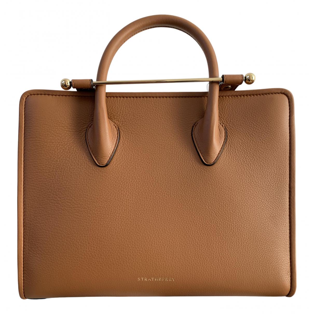 Strathberry N Camel Leather handbag for Women N