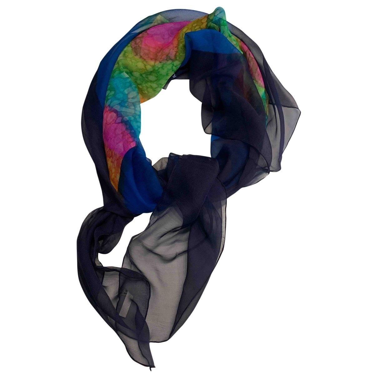Paco Rabanne - Carre   pour femme en soie - multicolore
