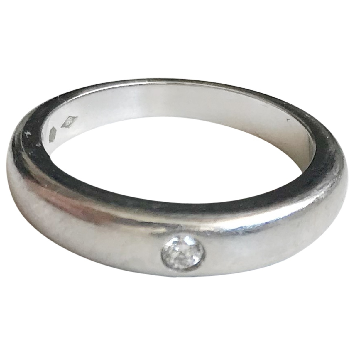 Van Cleef & Arpels \N Ring in  Silber Platin