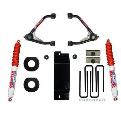 Skyjacker 3.5 - 4 Inch Upper Control Arm Lift Kit with Hydro 7000 Rear Shocks - C17350PAH