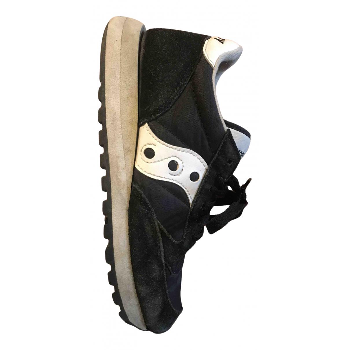 Saucony \N Sneakers in  Schwarz Polyester