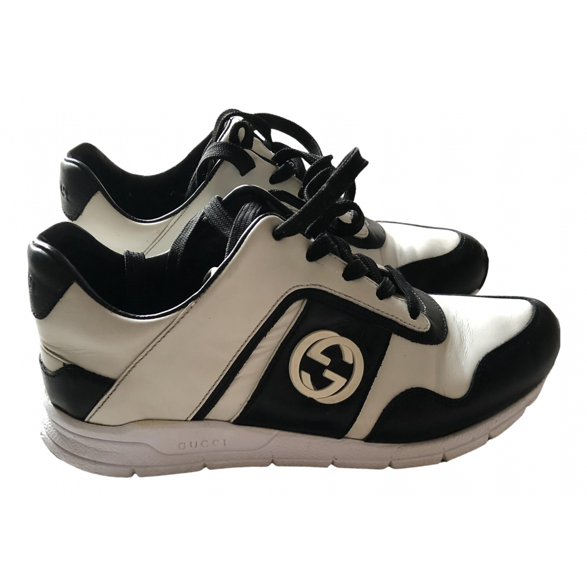 Gucci N White Leather Trainers for Women 35 EU
