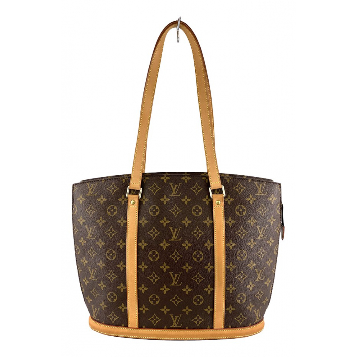 Louis Vuitton Babylone vintage Brown Cloth handbag for Women N