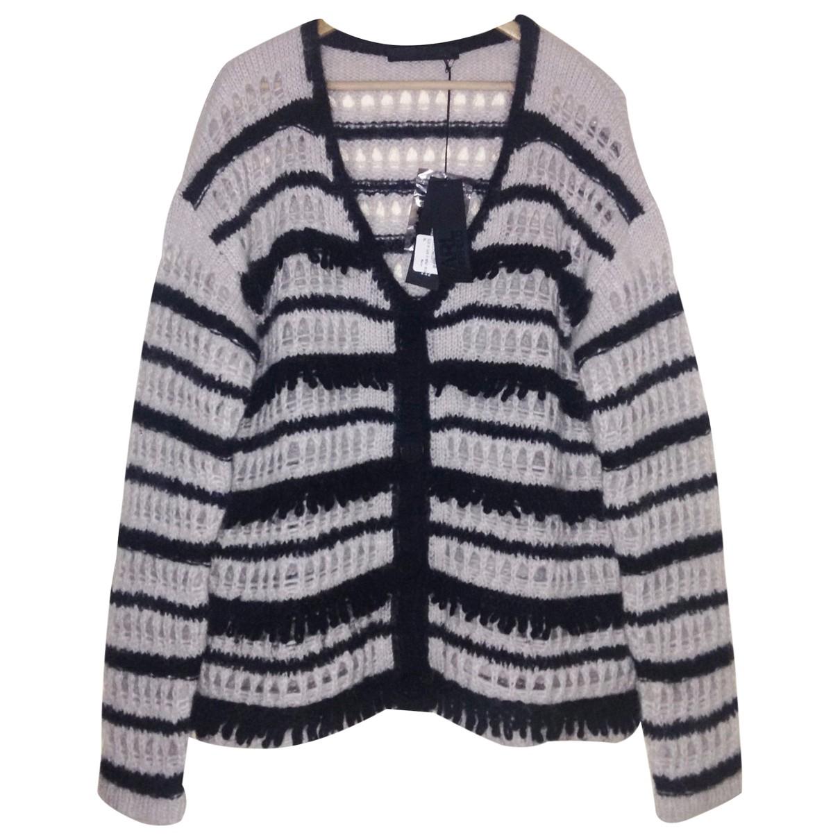 Karl Lagerfeld - Pull   pour femme en laine - noir