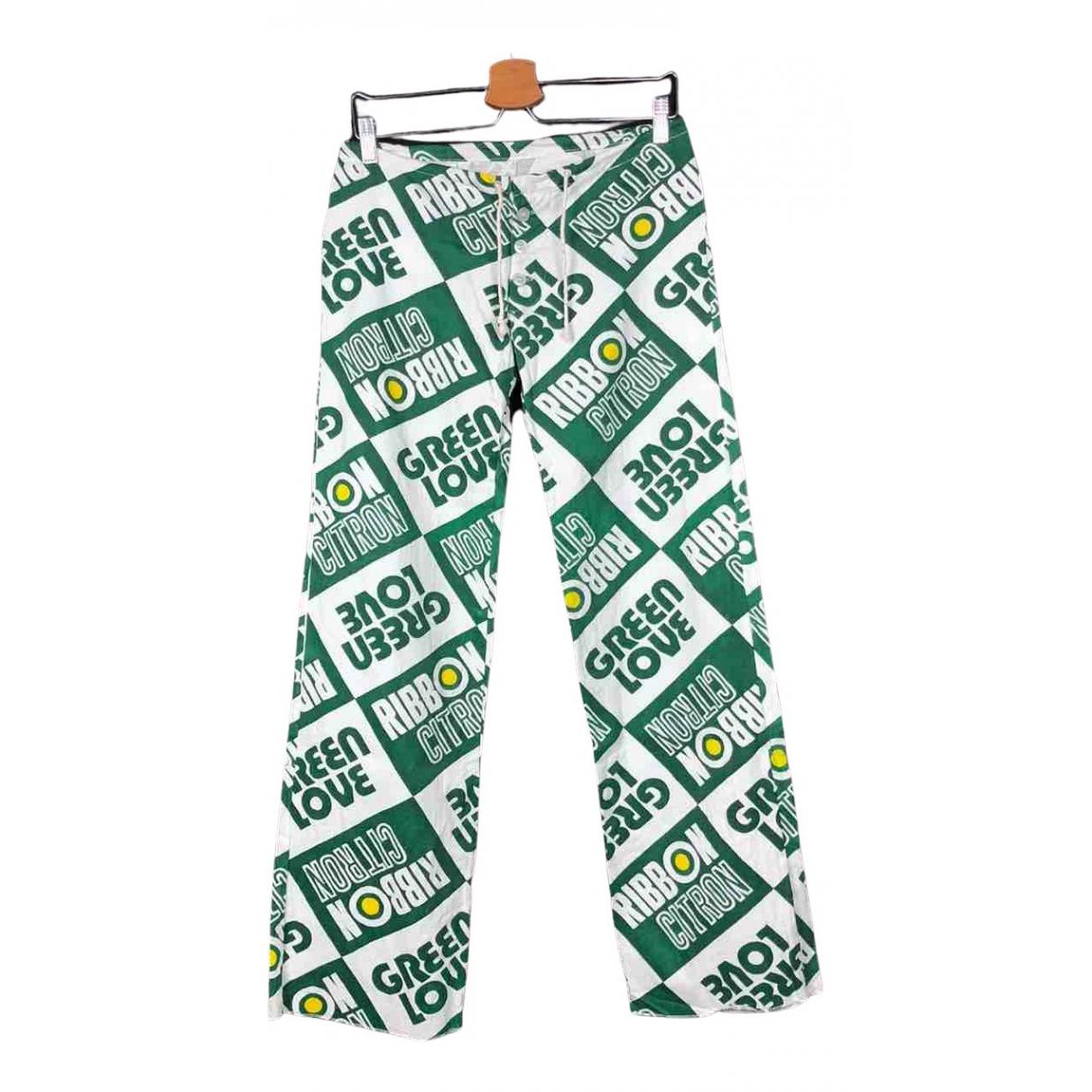 Autre Marque N Multicolour Cotton Trousers for Women L International