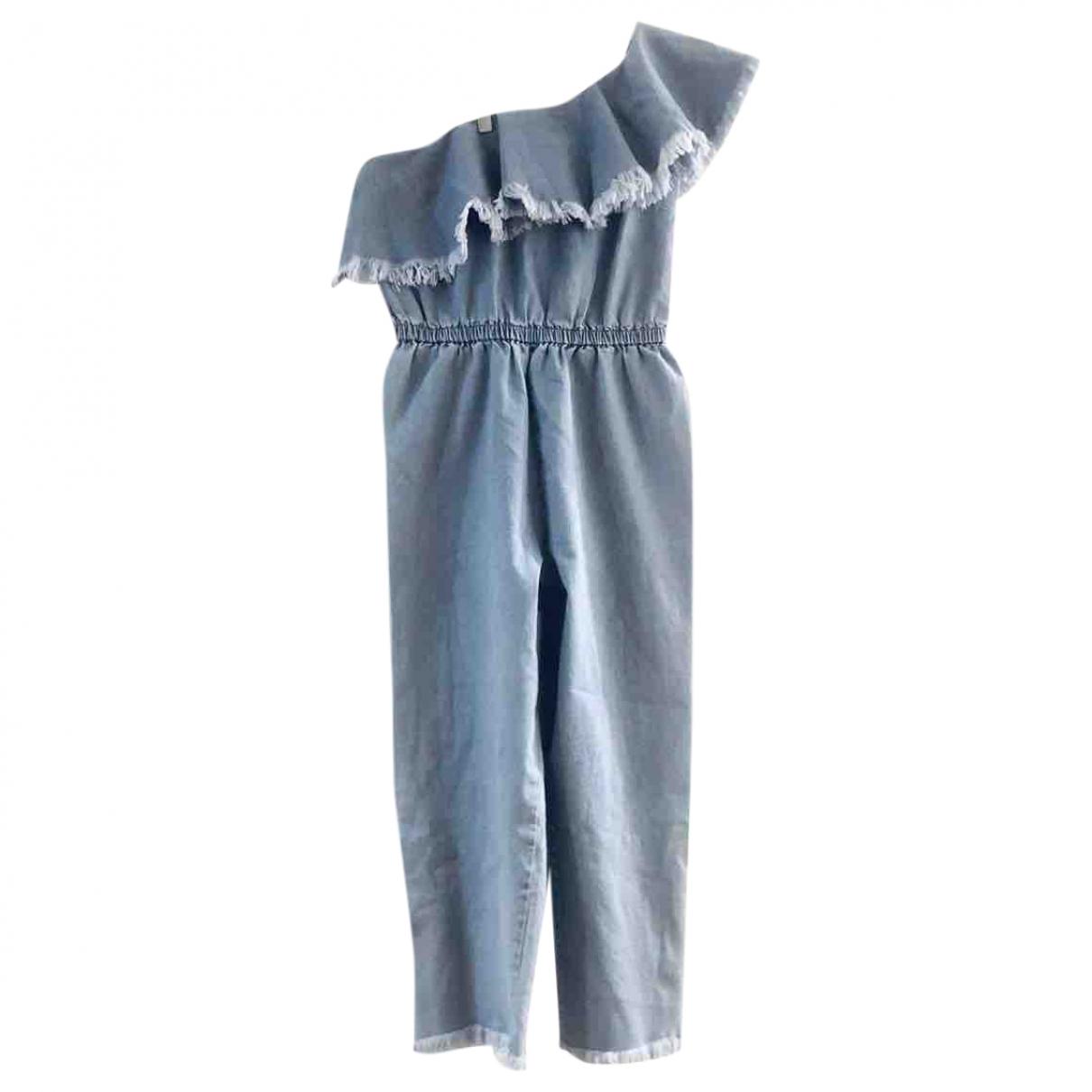 Non Signé / Unsigned \N Blue Denim - Jeans jumpsuit for Women L International
