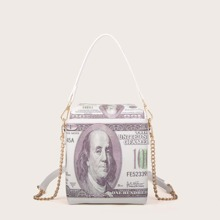 Dollar Design Box Bag