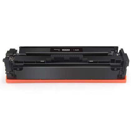 Compatible HP 414X W2020X cartouche de toner noire haute capacité - sans puce - boîte économique