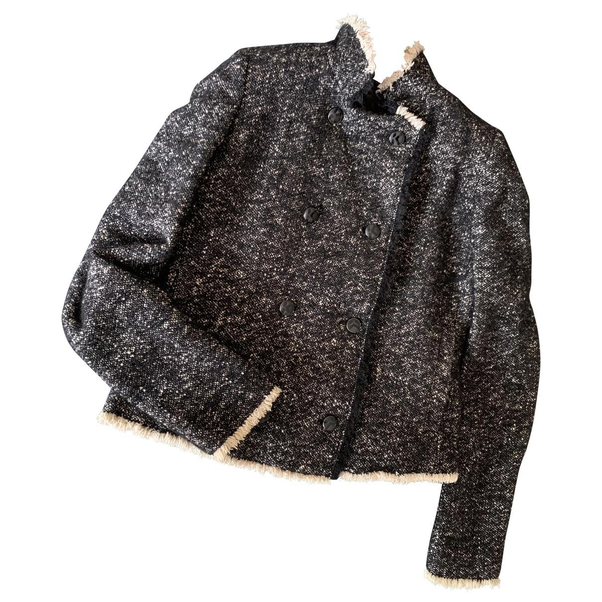 Karl Lagerfeld \N Black Wool jacket for Women 36 FR