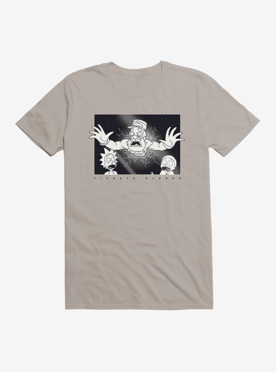 Rick And Morty Tickets Please T-Shirt