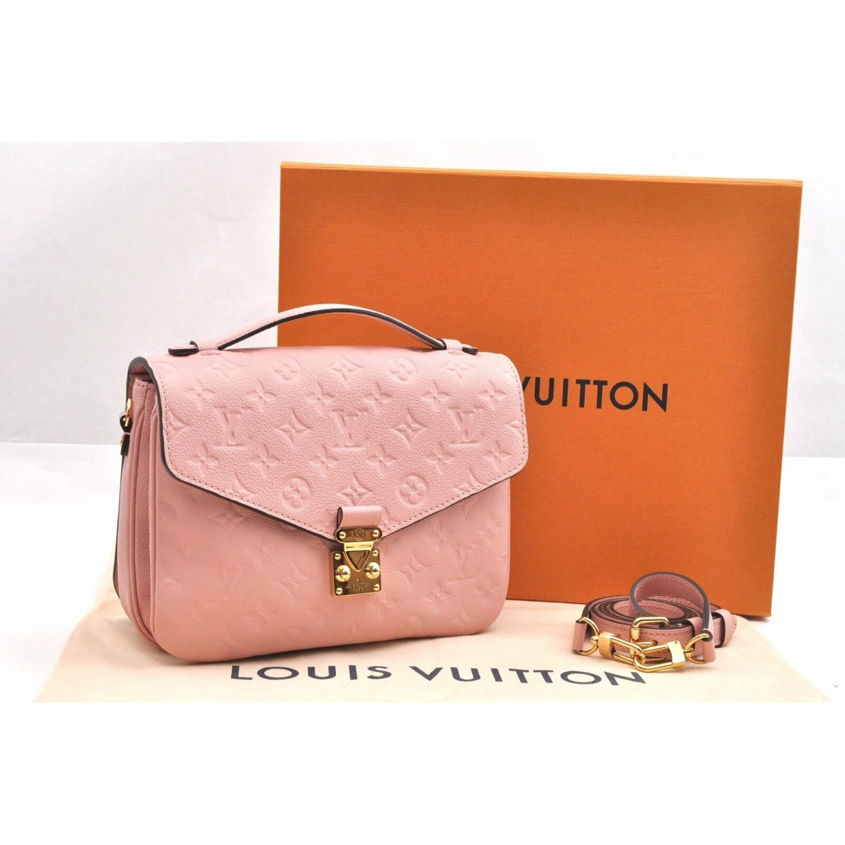Louis Vuitton \N Pink Cloth handbag for Women \N