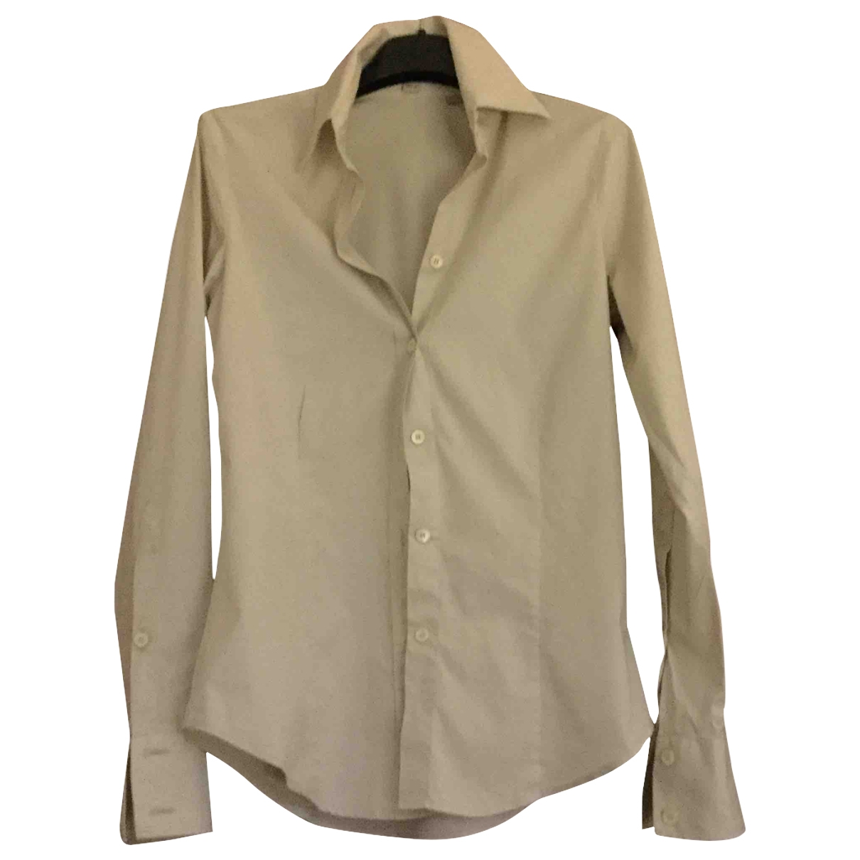 Burberry \N Khaki Cotton  top for Women 4 UK