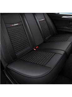 Full Coverage 5 Seater Wear-Resistant Breathable Durable Leather And Breathable Ice Silk Airbag Compatible Truck Seat Covers/ 5-Seater Sedan Seat Cove