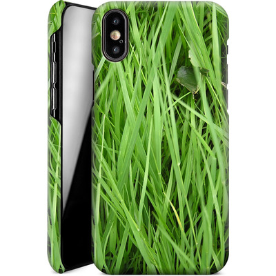 Apple iPhone XS Smartphone Huelle - Grass von caseable Designs
