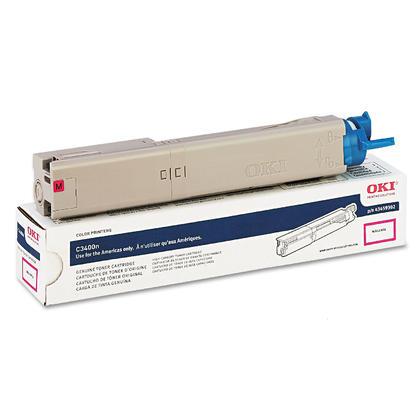 Okidata 43459302 cartouche de toner originale magenta haute capacité