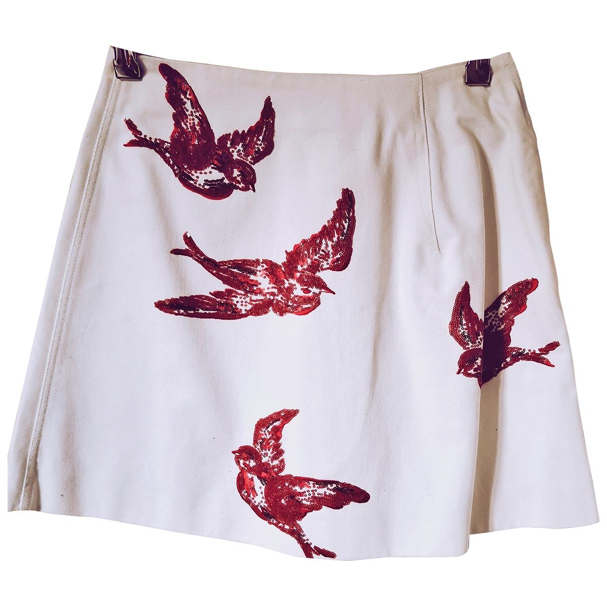 Mini falda Miu Miu