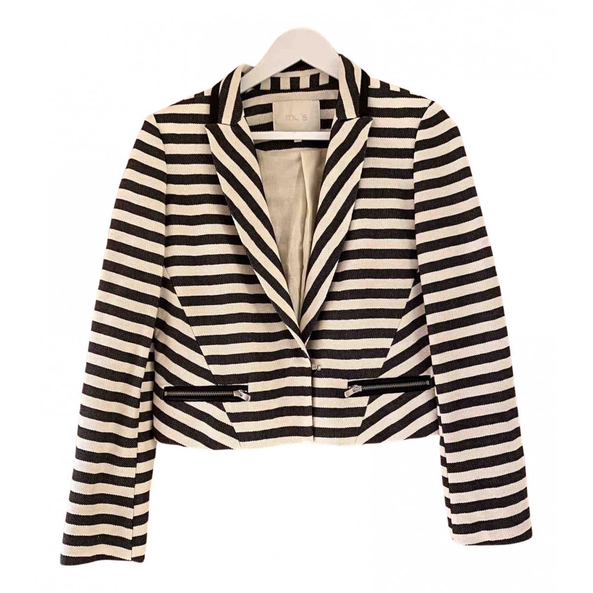 Maje N Multicolour Cotton jacket for Women 36 FR