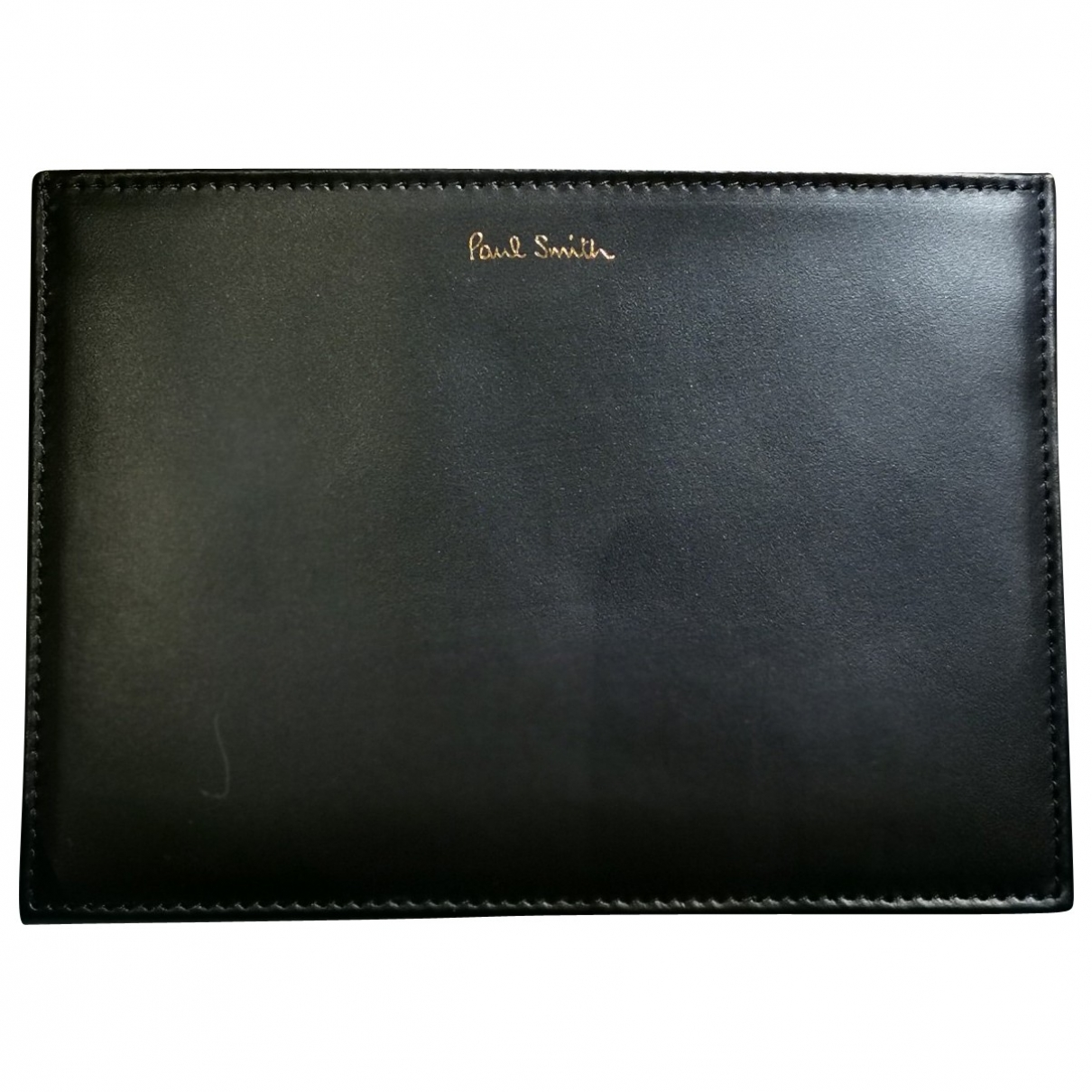 Paul Smith \N Black Leather Purses, wallet & cases for Women \N