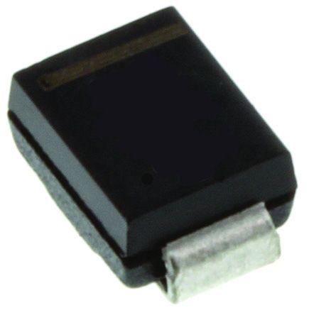 DiodesZetex Diodes Inc D5V0L1B2LPS-7B, Dual-Element Bi-Directional TVS Diode, 84W, 2-Pin U-DFN1006 (50)