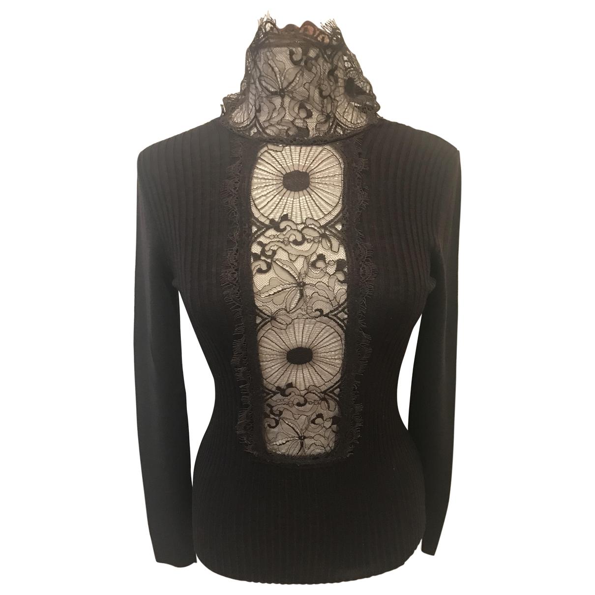 Jean Paul Gaultier - Pull   pour femme en laine - marron
