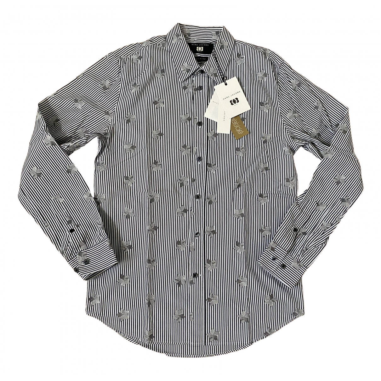 Marc Jacobs \N Anthracite Cotton Shirts for Men M International