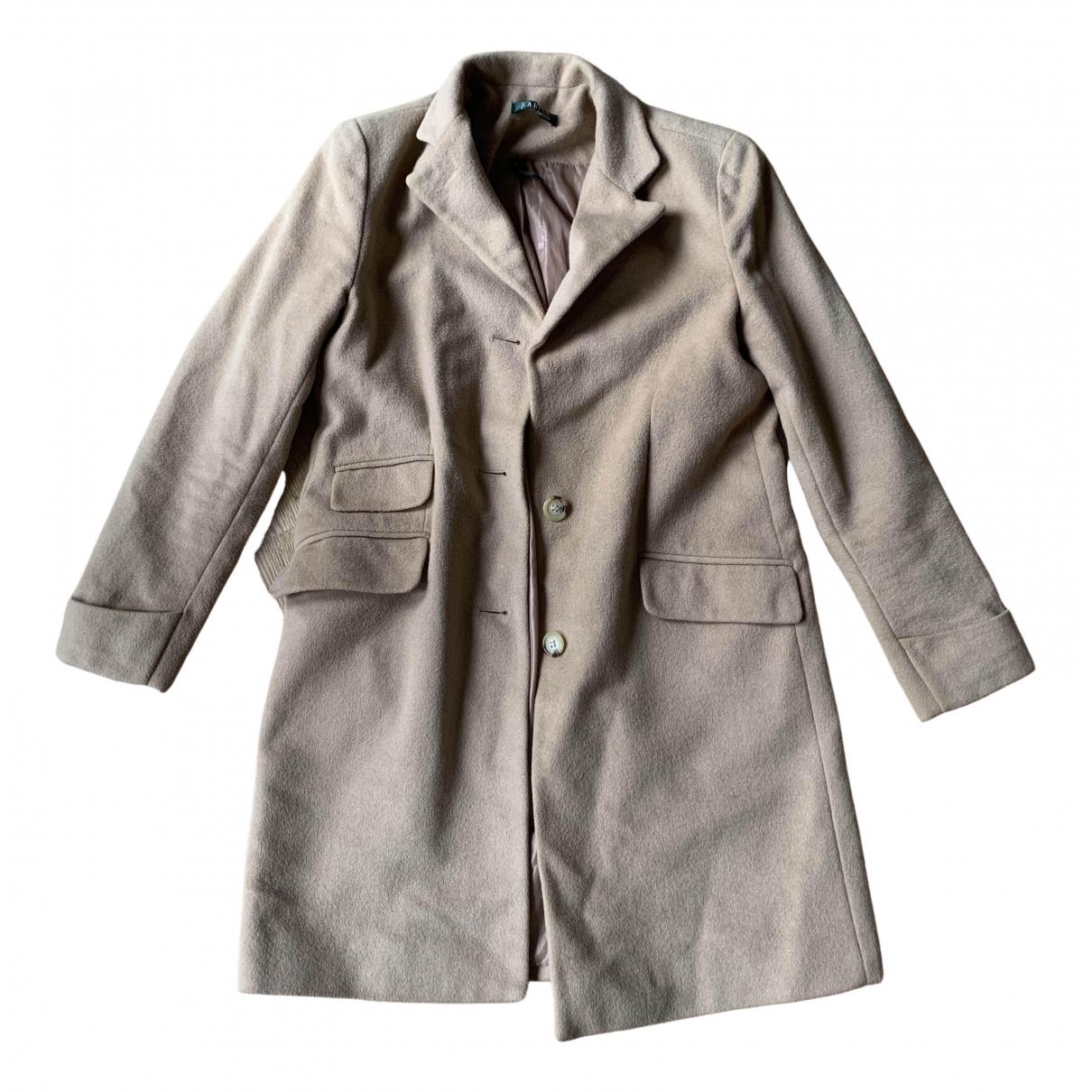 Lauren Ralph Lauren \N Beige Wool coat for Women 6 UK