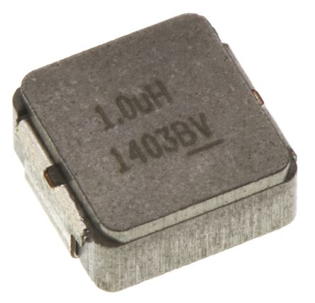 Vishay , IHLP, 2225 (5664M) Shielded Wire-wound SMD Inductor with a Metal Composite Core, 1 μH ±20% Wire-Wound 11A Idc (5)
