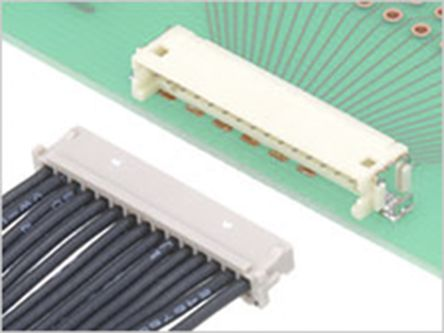 Hirose , DF13, 30 Way, 1 Row, Straight PCB Header (19)