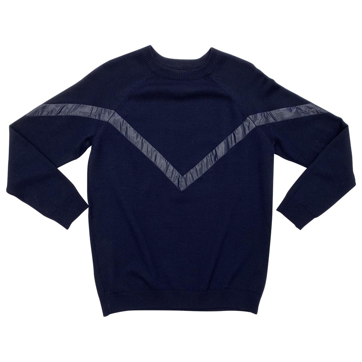Petar Petrov \N Pullover.Westen.Sweatshirts  in  Blau Wolle