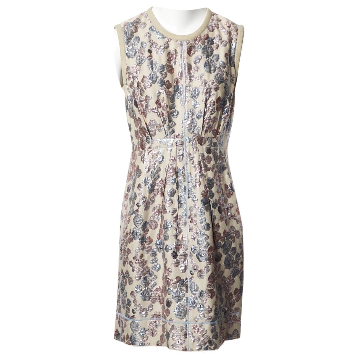 Marc Jacobs \N Ecru Cotton dress for Women 6 US