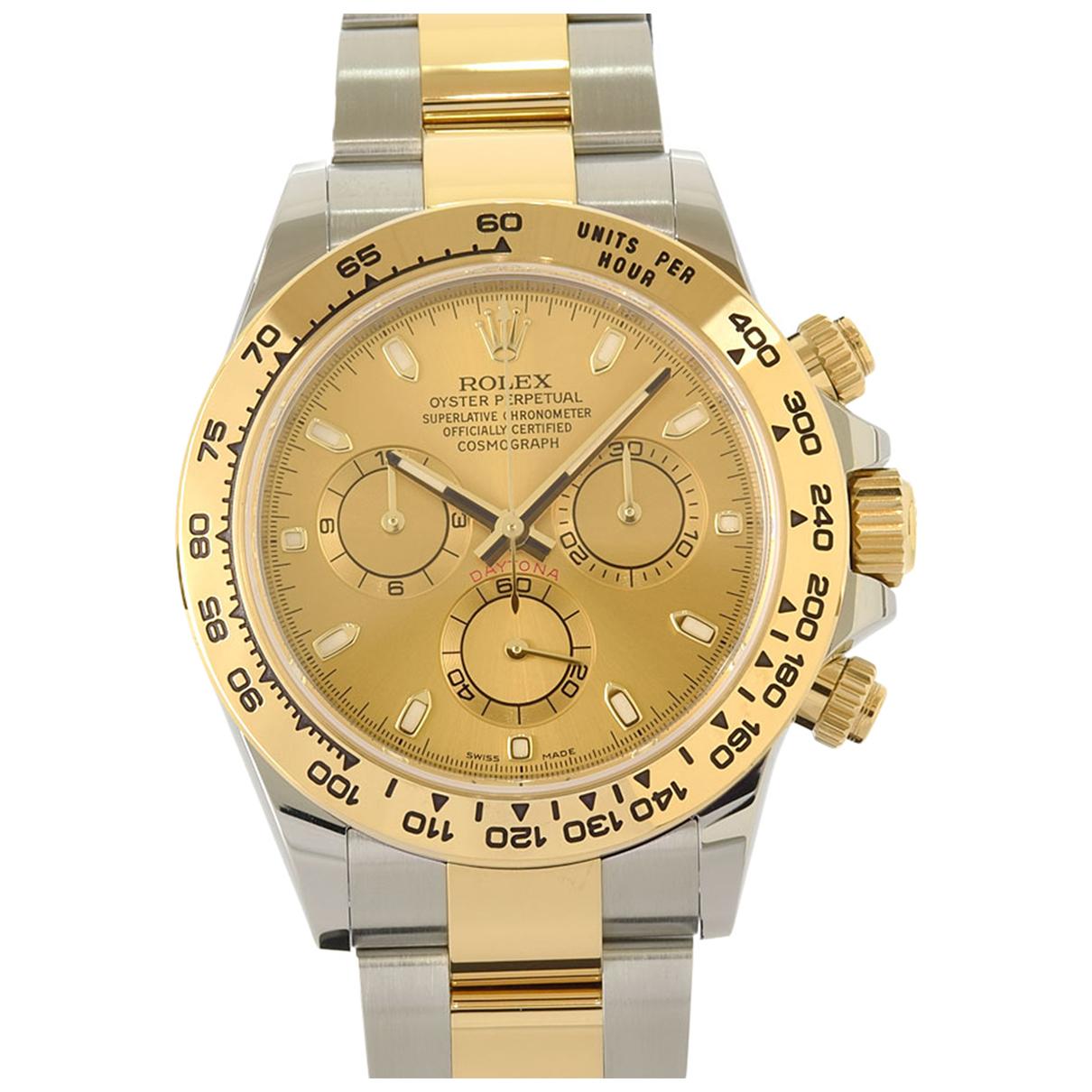Rolex Daytona Uhr in  Silber Gold und Stahl
