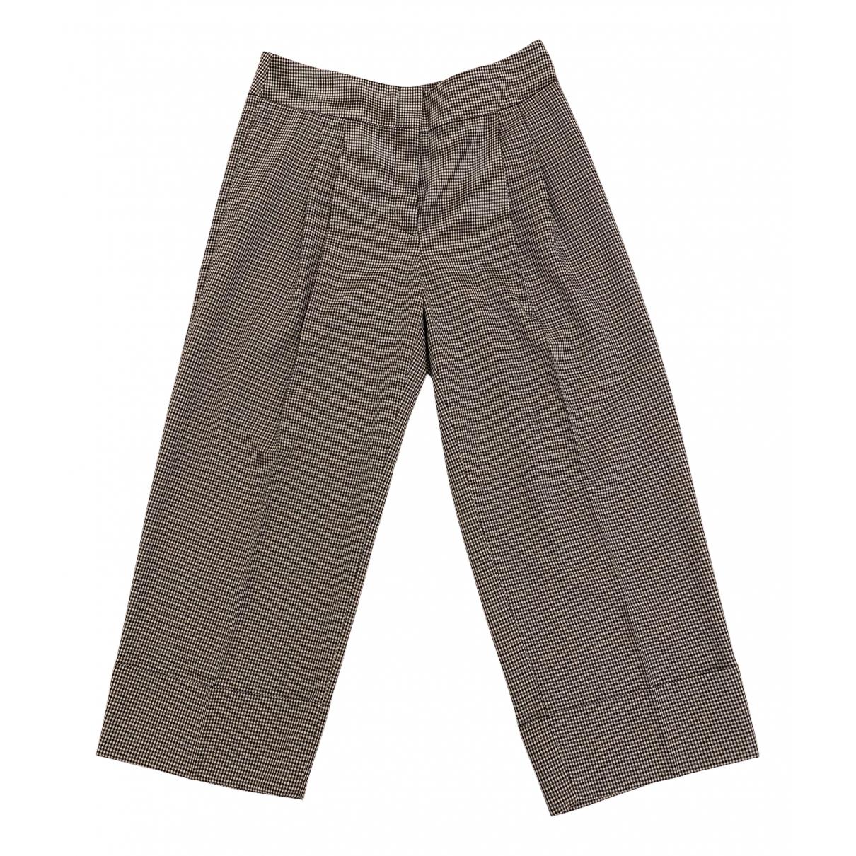 Antonio Marras N Cotton Trousers for Women 40 IT