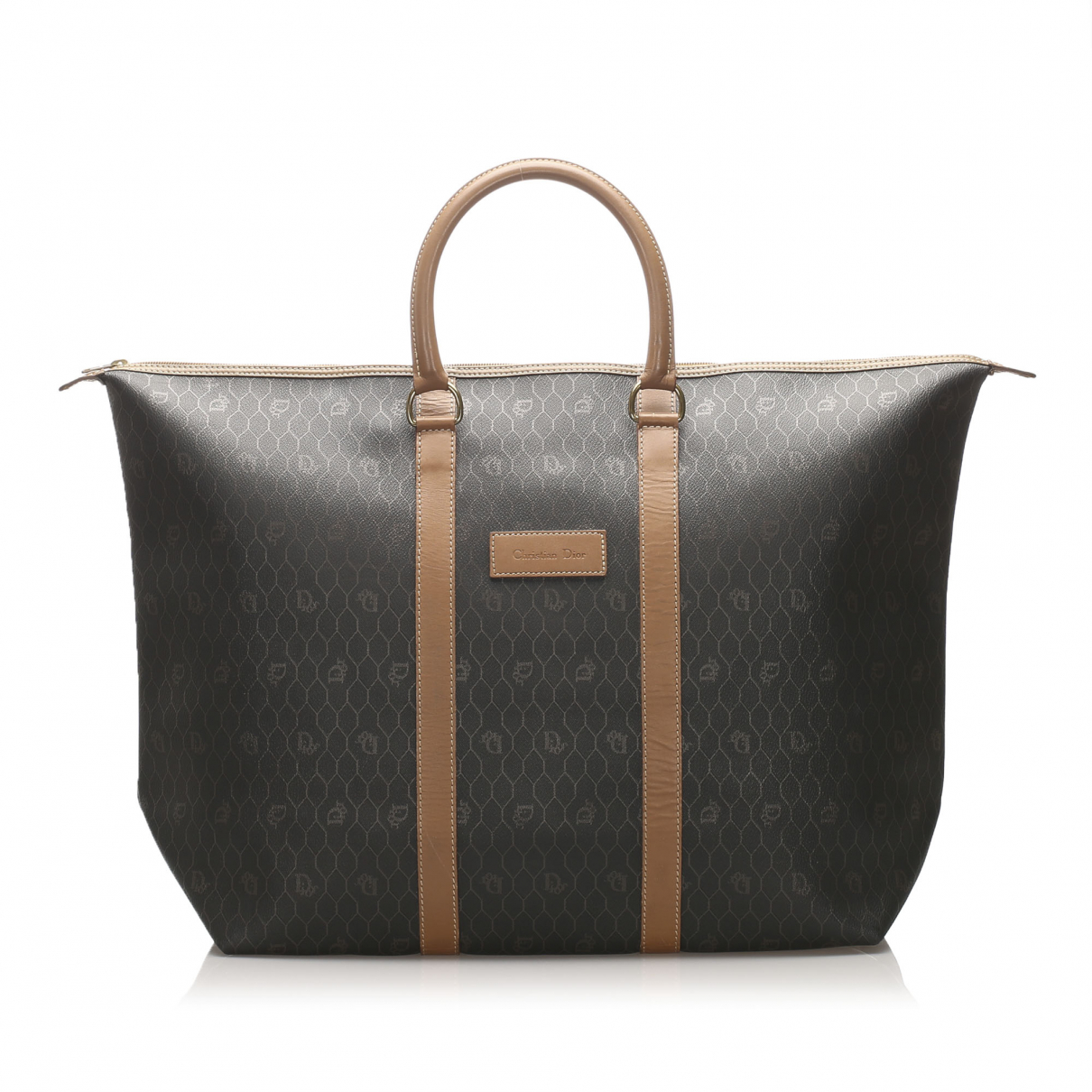 Dior - Sac de voyage   pour femme en toile - noir