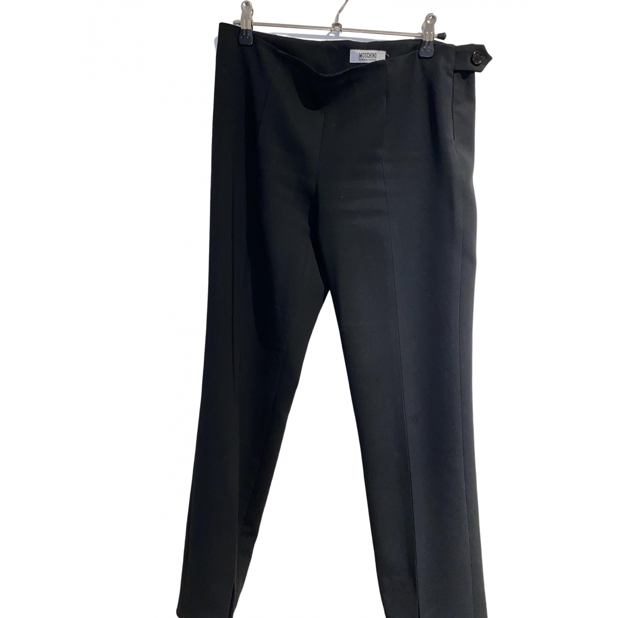 Moschino Cheap And Chic \N Black Trousers for Women M International