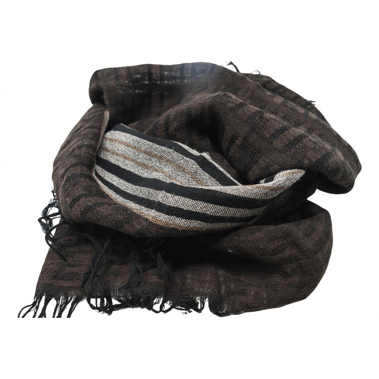 Fendi \N Schal in  Braun Baumwolle