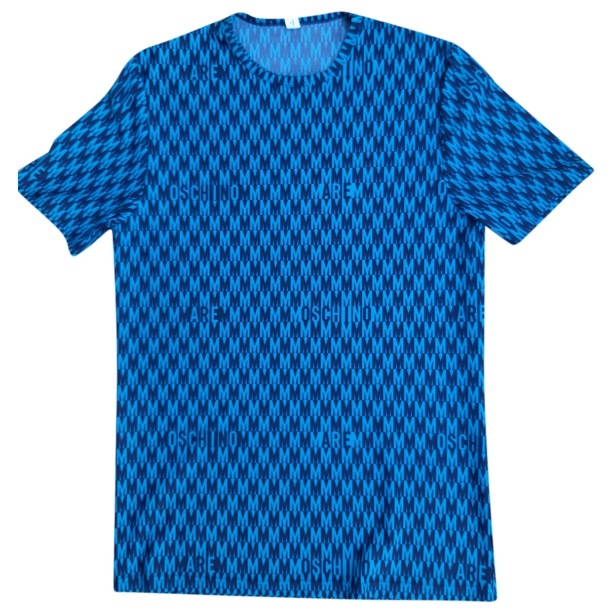Moschino - Tee shirts   pour homme - bleu