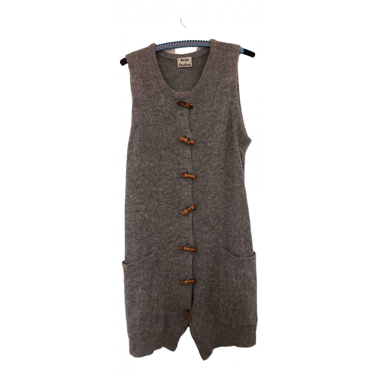Acne Studios \N Grey Wool Knitwear for Women 34 FR