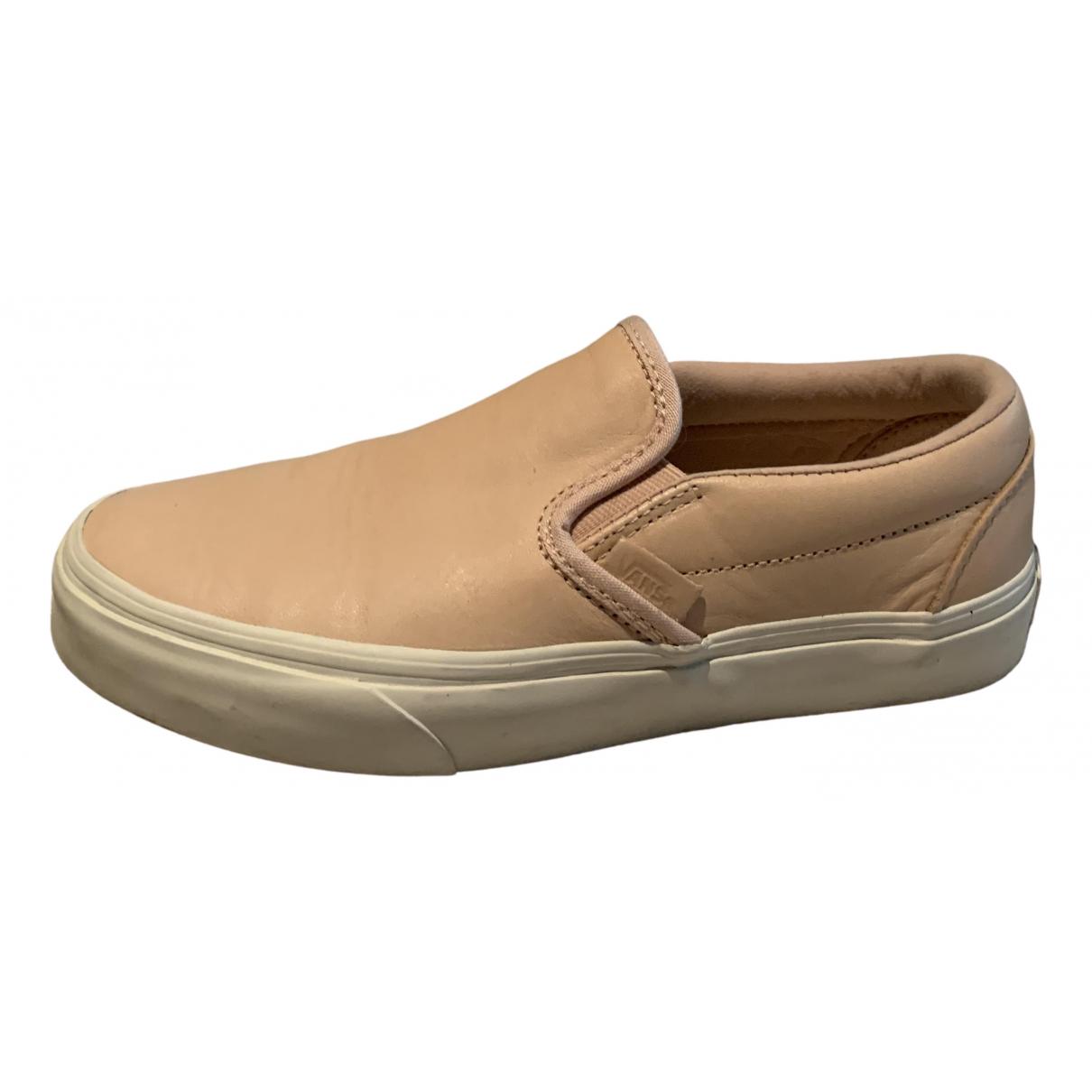 Vans \N Sneakers in  Rosa Leder