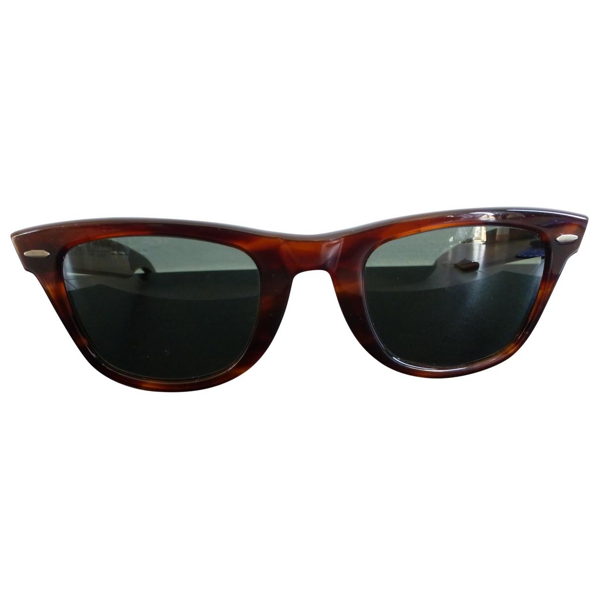 Ray-ban Original Wayfarer Sonnenbrillen in  Braun Kunststoff