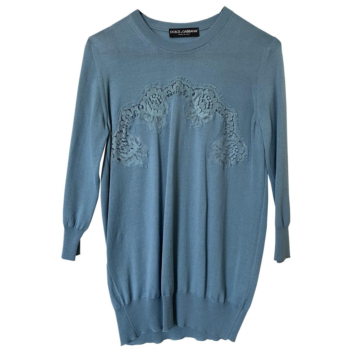 Dolce & Gabbana \N Grey Wool Knitwear for Women 38 IT