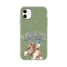 Christmas Elk Print iPhone Case