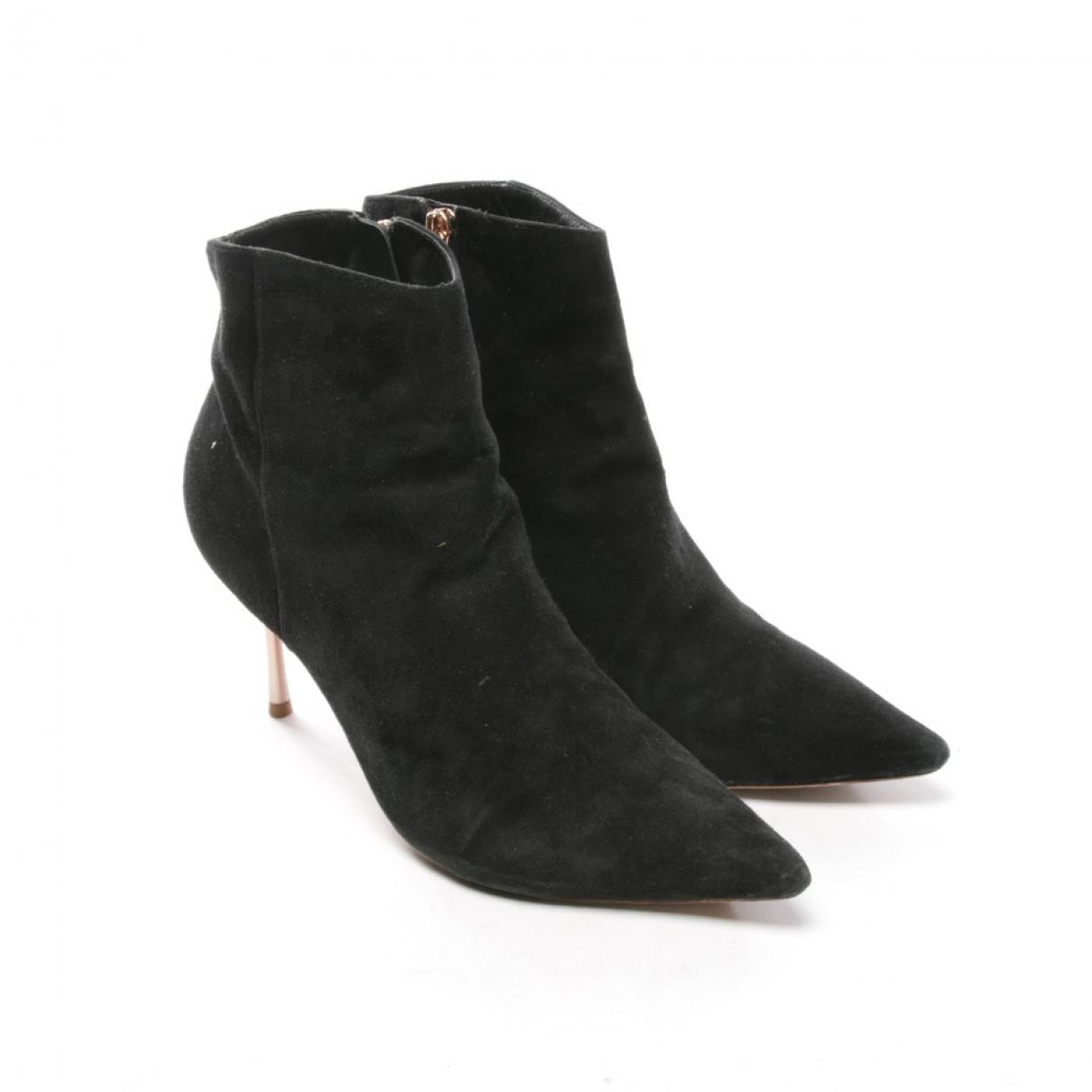 Sophia Webster - Boots   pour femme en cuir - noir