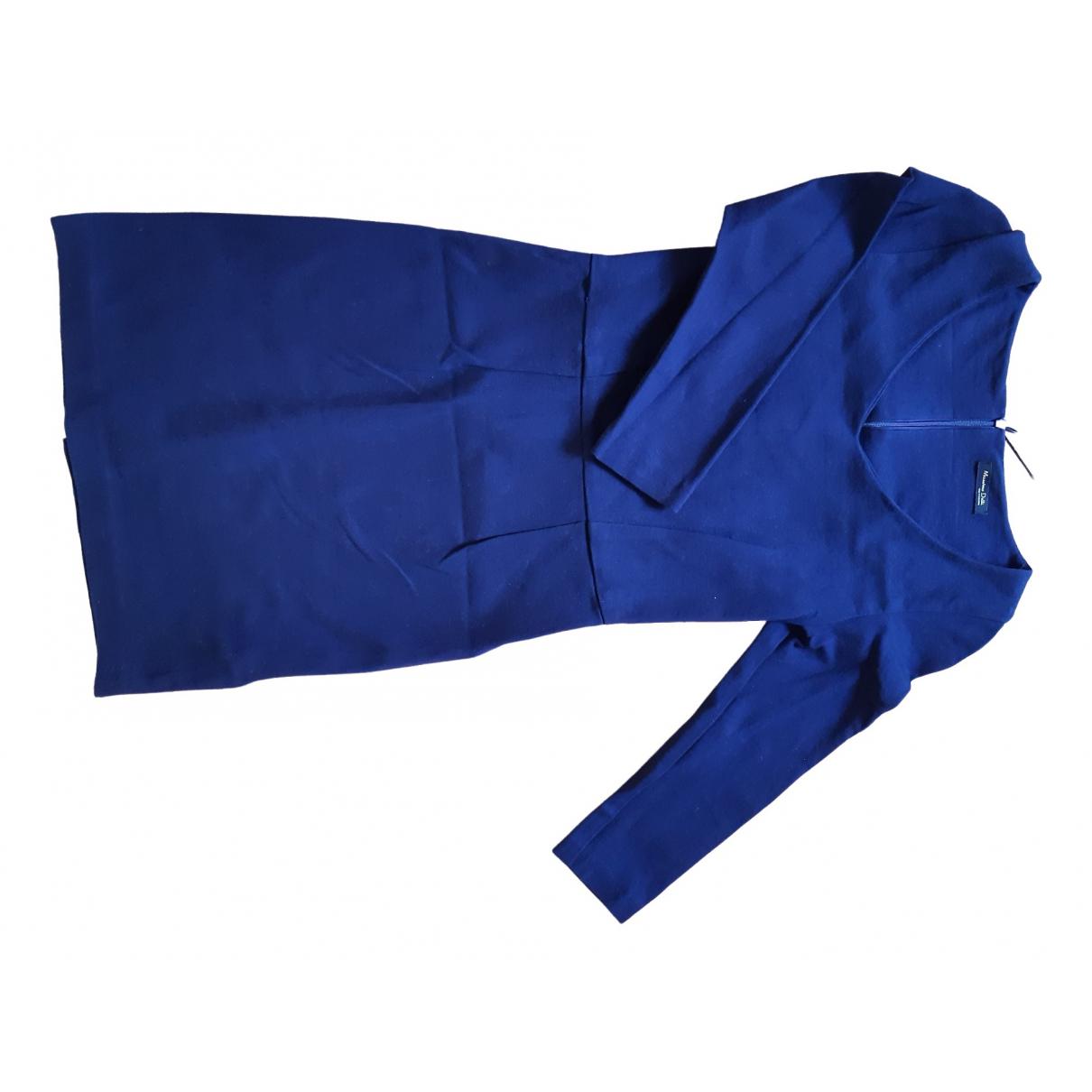 Massimo Dutti \N Navy dress for Women 36 FR