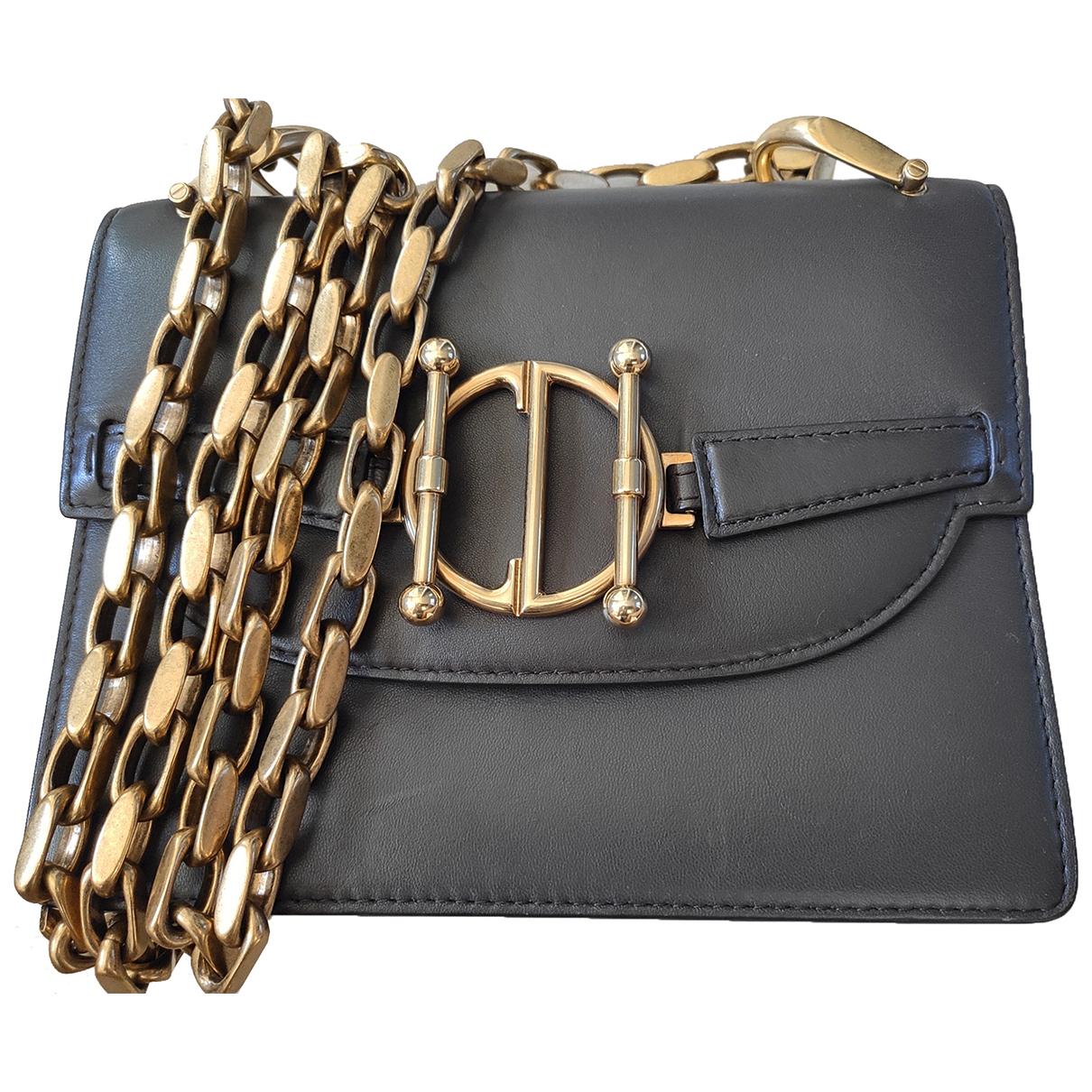 Dior DiorDirection Grey Leather handbag for Women \N